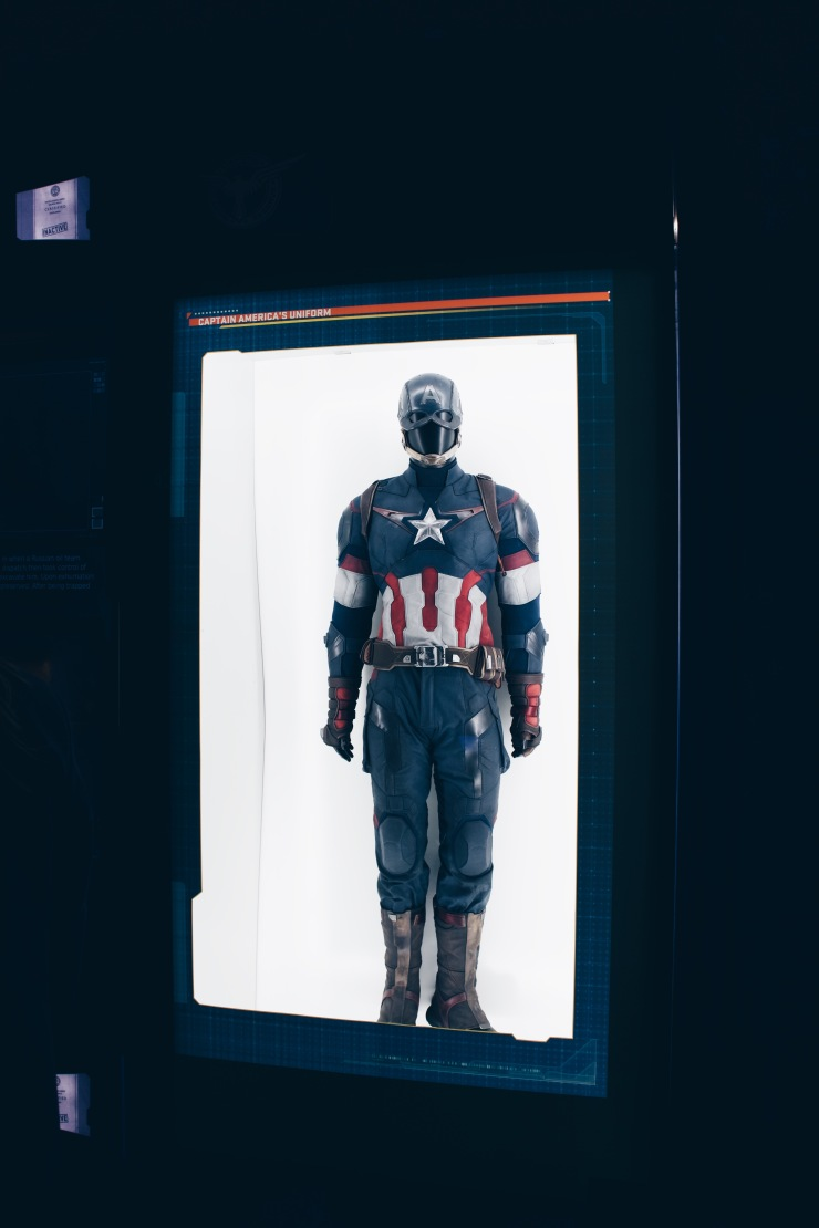 Captain America's Suit