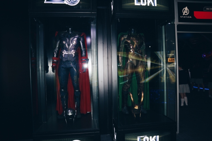Thor and Loki Suits