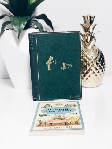 Winnie the Pooh Eighth Edition and Paperback Edition