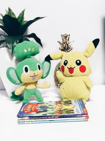 Old Pokémon Plushies