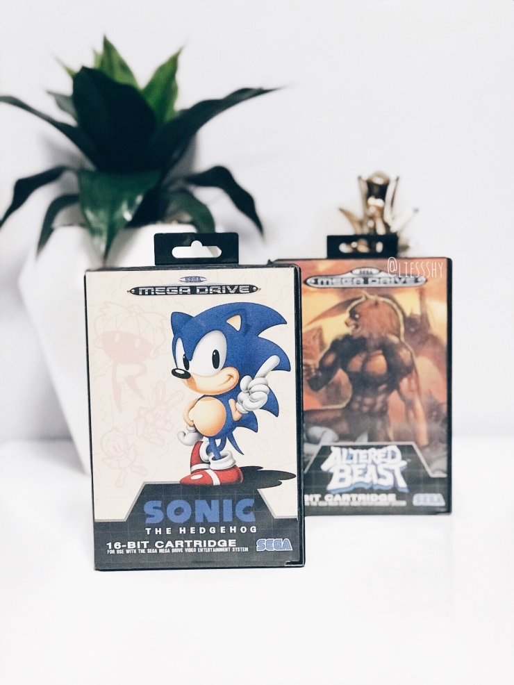 Sonic the Hedgehog and Altered Beast