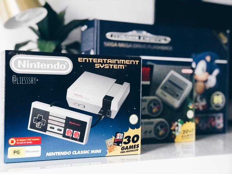 Mini Retro Consoles
